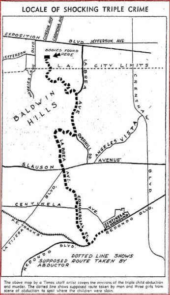 LA TIMES map